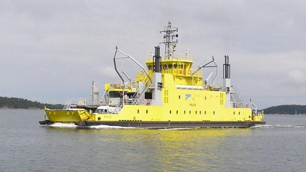 Автономное судно Falco