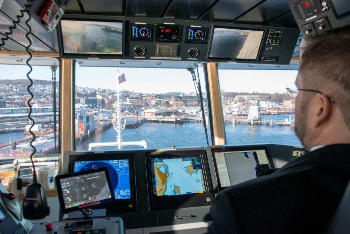 Автономное судно Kongsberg 1